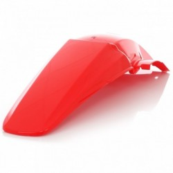 Sárvédő hátsó piros