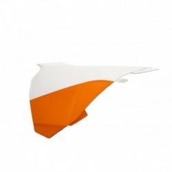Légszűrő burkolat narancs-fehér