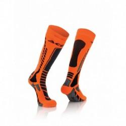 Zokni MX Pro L/XL fekete-narancs