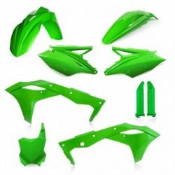 Idom szett full zöld