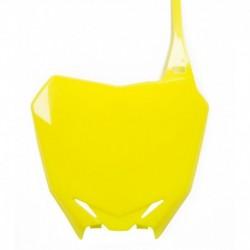 Rajtszám tartó első fluo (sárga)