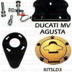 Slide system ducati/mv augusta Fekete