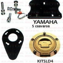 Slide system yamaha 5 Fekete