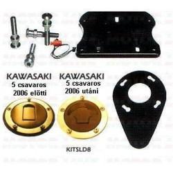 Slide system kawasaki Fekete