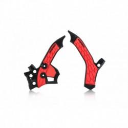 X-Grip vázvédő fekete-piros