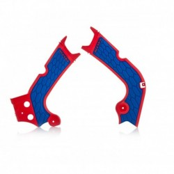 X-Grip vázvédő piros-kék