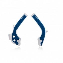 X-Grip vázvédő fehér-kék