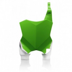 Raptor rajtszám tartó első zöld-fehér