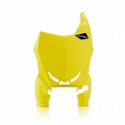 Raptor rajtszám tartó első sárga