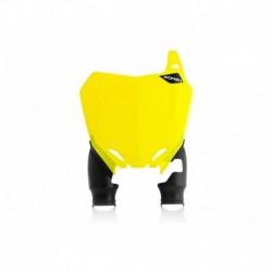 Raptor rajtszám tartó első sárga-fekete