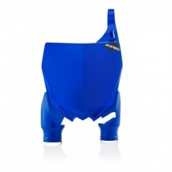Raptor rajtszám tartó első kék