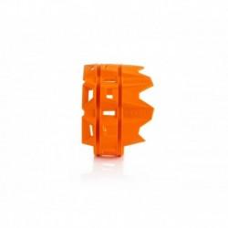 Kipufogó védő narancs
