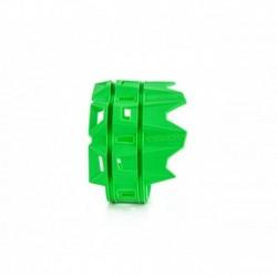 Kipufogó védő zöld