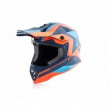 Bukósisak Steel 50 narancs-kék