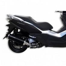 Kipufogó RX fekete