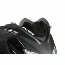 Sport plexi sötét füst - szélesség 380x magasság 250 sp.3 mm