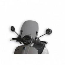 Sport plexi világos füst - szélesség 500x magasság 330 sp.3 mm