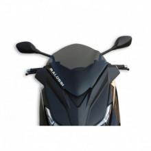 Sport plexi sötét füst - szélesség 370x magasság 350 sp.3 mm
