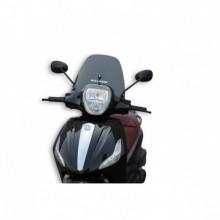 Sport plexi sötét füst - szélesség 380x magasság 230 sp.3 mm