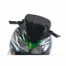 Sport plexi sötét füst - szélesség 520x magasság 460 sp.3 mm