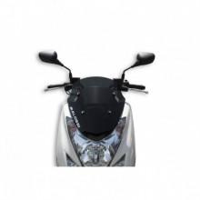 Sport plexi sötét füst - szélesség 360x magasság 410 sp.3 mm