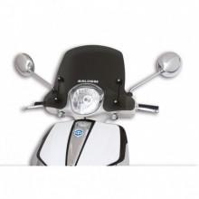 Sport plexi sötét füst - szélesség 450x magasság 340 sp.3 mm