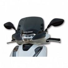 Sport plexi sötét füst - szélesség 450x magasság 350 sp.3 mm