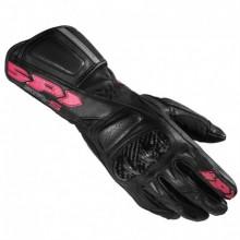 Kesztyű STR-5 Lady M fekete-rózsaszín