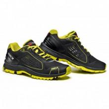Cipő Approach 45 fekete-fluo sárga