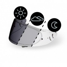 Bukósisak plexi CWR-1 fényre sötétedő