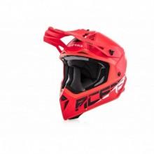 Bukósisak Steel Carbon XL piros