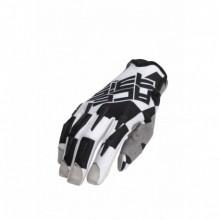 Kesztyű MX X-P S fekete-fehér