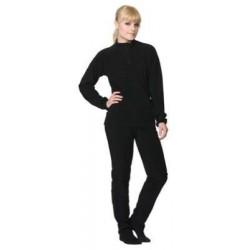 Aláöltöző szett Toast Microfleece Lady 38 fekete