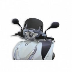 Sport plexi sötét füst - szélesség 478x magasság 367 sp.3 mm