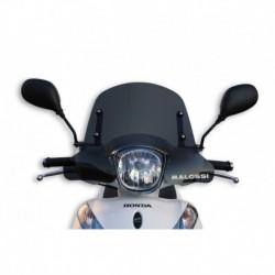 Sport plexi sötét füst - szélesség 480x magasság 340 sp.3 mm