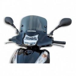 Sport plexi sötét füst - szélesség 480x magasság 345 sp.3 mm
