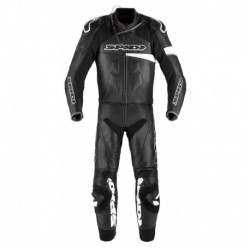 Bőroverál Race Warrior Touring 48 fekete-fehér