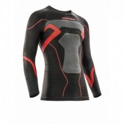 Aláöltöző felső x-body L/XL Fekete-piros