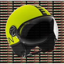 Bukósisak Fighter XS fluo sárga-fekete