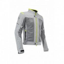 Kabát Ramsey My Vented 2.0 CE 3XL szürke-fluo sárga