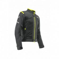 Kabát Ramsey My Vented 2.0 CE XXL fekete-fluo sárga