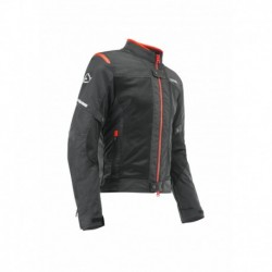 Kabát Ramsey My Vented 2.0 CE XXL fekete-piros