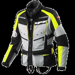 Kabát 4Season XXL fekete-szürke-fluo (sárga)