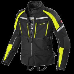 Kabát Armakore XXL fekete-fluo sárga