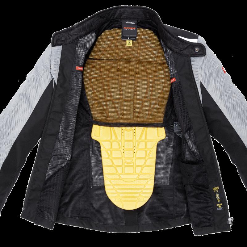 Kabát Solar Net S szürke fekete Motor Line Kft.