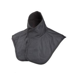 Szélálló nyak-váll-mellkasvédő fekete