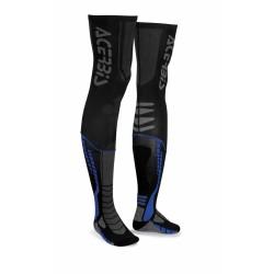 Zokni X-Leg Pro XXL fekete-kék