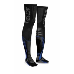 Zokni X-Leg Pro S/M fekete-kék