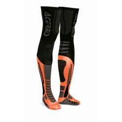 Zokni X-Leg Pro XXL fekete-narancs