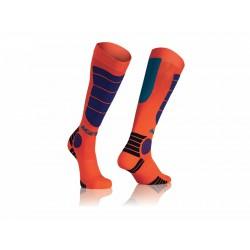 Acerbis zokni MX Impact Kid L/XL narancs-kék
